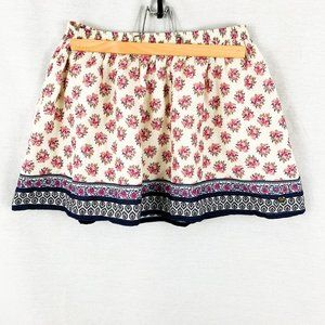 Juicy Couture printed Mini Flare Skirt